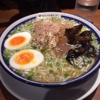 牛タンネギ塩ラーメン タン増し塩玉子(きぞう (㐂蔵))