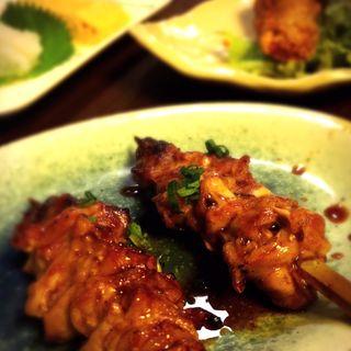 ハラミ串焼き(阿波尾鶏)(炭火焼鳥 鳥ぼん )