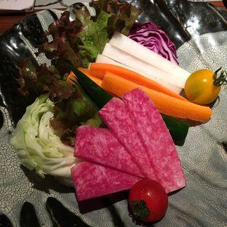 ・採れたて有機野菜の盛り合わせ(裏NO庭 銀座店 )
