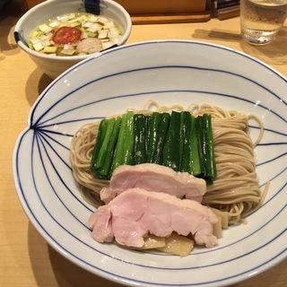 鶏塩つけそば(夏麺第6弾)(饗 くろ喜 (もてなし くろき/饗 くろ㐂))
