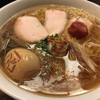 真夏の貝寒そば(フスマにかけろ 中崎壱丁 (麩))