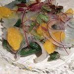 真鯛のカルパッチョ