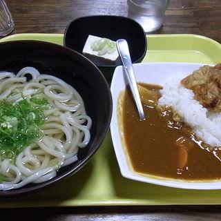 カレーセット(立喰讃岐うどん 和太郎 (たちぐいさぬきうどん わたろう))