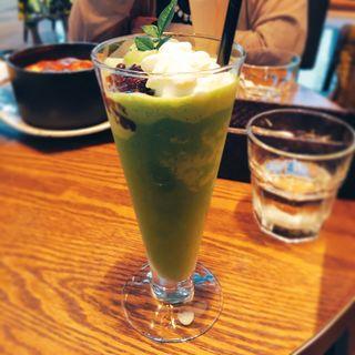 白餡クリーム抹茶セーキ(京都モダンテラス )
