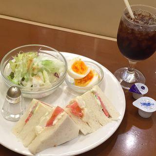 モーニングセット(シンバシベーカリー・プラス・カフェ (ShinbashiBAKERY plus Cafe))