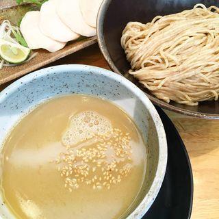 塩鶏つけ麺(麺匠 たか松 )