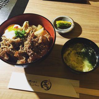 神戸牛すき焼き丼(すきやきしゃぶしゃぶ 神戸牛石田 )