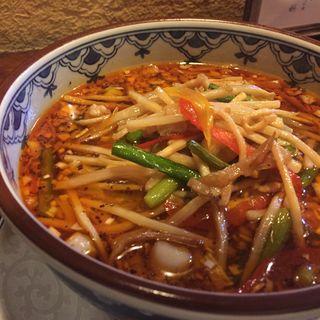 サンラータン麺(中国料理 香旬 (チュウゴクリョウリコウシュン))