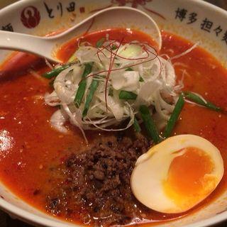 特製担々麺(博多担々麺 とり田)
