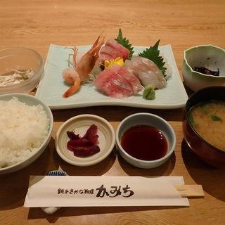 刺身定食(かみち )