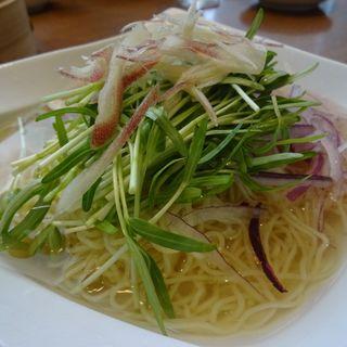 鶏冷製スープ麺(鼎泰豊 銀座店)