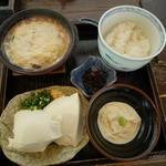 湯葉丼+湯葉刺しセット