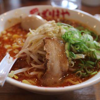 辛みそラーメン(八番山ばりきや 安中店 (ハチバンヤマバリキヤ))