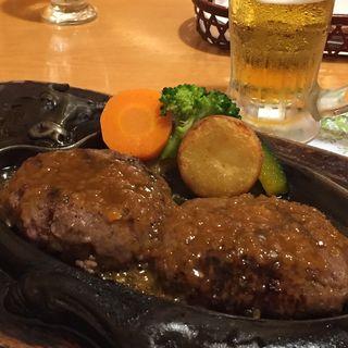 げんこつハンバーグ(炭焼きレストランさわやか 磐田本店)