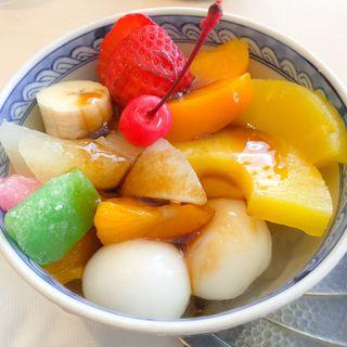 みつ豆((株)日本橋東洋)