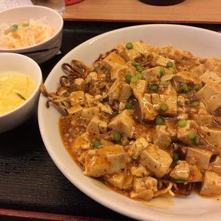 麻婆豆腐定食(紅燈籠 桑園店 (ホンタンロン))