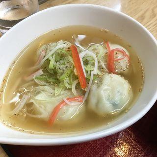 スープ餃子(餃子のはながさ)