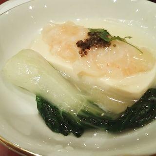 海老すり身と豆腐の蒸し物(海鮮酒家 海皇 (カイセンシュケ ハイファン))