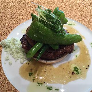国産牛牛フィレ肉のV.C.C焼き(ナベノ-イズム )