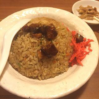 焼豚チャーハン(らーめん あらうま堂 梅田一番街店 (あらうまどう))