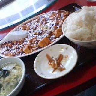 マーボー豆腐定食(龍門 百万遍店 (リュウモン))