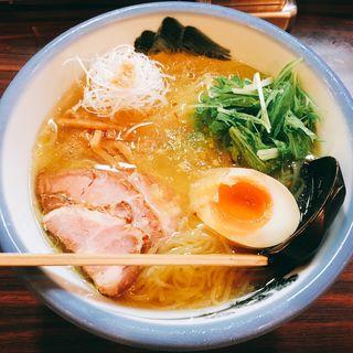 冷やしゆず塩麺(AFURI 恵比寿店)