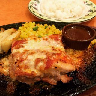 柔らかチキンのチーズ焼き(サイゼリヤ)