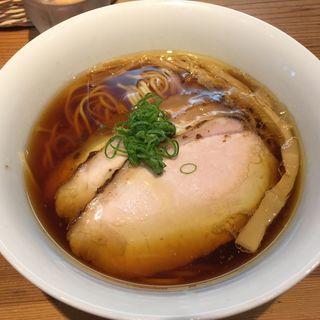 「鶏と水」チャーシュー麺(らの道 限定)(トイ・ボックス )