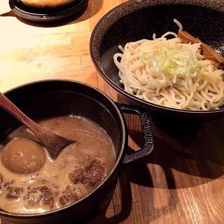 味玉もつつけ麺(北野坂 奥 )