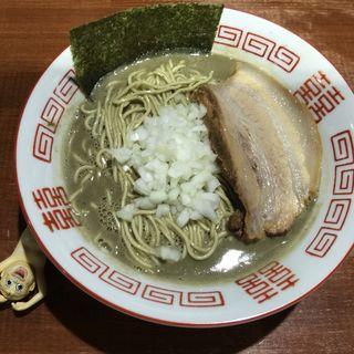 濃厚中華そば(麺や而今 (じこん))