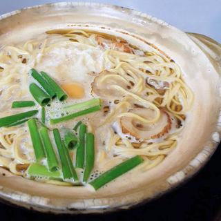 鍋焼きラーメン(まゆみの店 (まゆみのみせ))