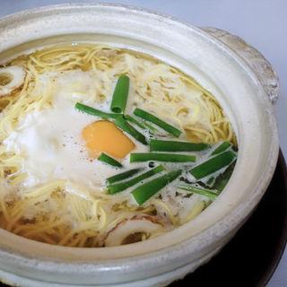塩鍋焼きラーメン(まゆみの店 (まゆみのみせ))