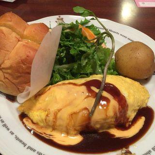KUKU餅もちチーズオムライス(ラケル 上大岡店)