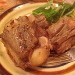 牛テールの黒胡椒焼