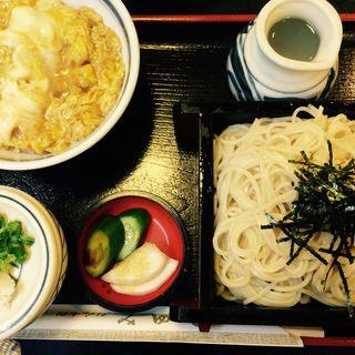 ざるそばセット(ハイカラ丼)(田舎そば みゆき 栄町店 )