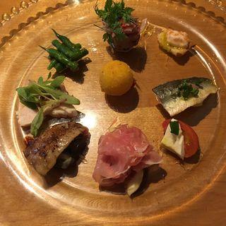 前菜盛り合わせ(ダルマット 恵比寿店 (DAL-MATTO))