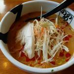 冷たい辛麻醤麺