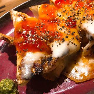 トマトとモツァレラチーズの餃子(チャオチャオ 生田新道店 )