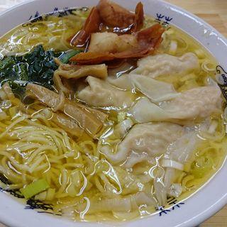 エビ 福ワンタン麺 (塩味)(黄金の福ワンタンまくり  西長住店)