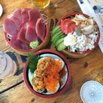 タカマル三特桶盛り(タカマル鮮魚店 )