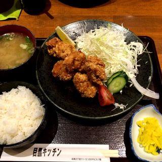鶏の竜田揚げ定食(目黒キッチン )