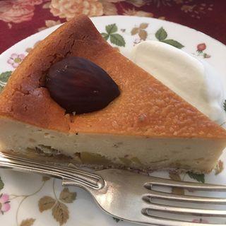 マロンチーズケーキ(北浜レトロ (きたはまれとろ))