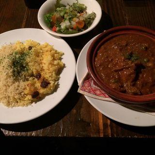 ラムすじ肉と塩レモンのカレー(アラビック酒場 タムタム・クラブ (Arabic Tavern TAMTAM CLUB))