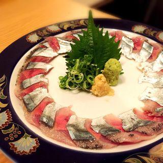 秋刀魚の刺身(刻食 (コク))