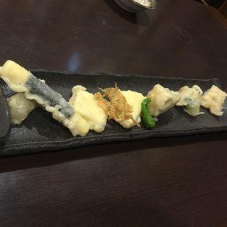 チーズの天麩羅(あつた蓬莱軒 本店 (蓬莱陣屋))