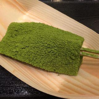 田楽わらび餅 抹茶(新杵 みちくさ餅 東京ソラマチ店 )