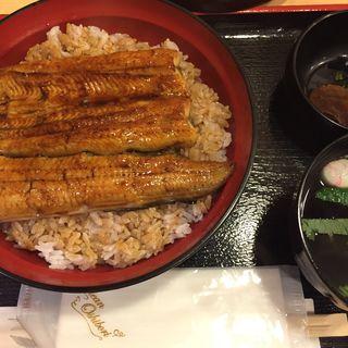 うな丼(銀座 鳴門 上野松坂屋店 (ぎんざ なると))