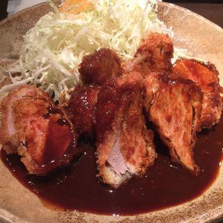 ヒレカツ定食(矢場とん 名古屋駅名鉄店 )