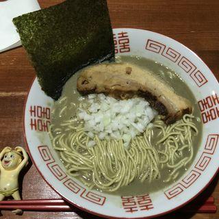 煮干 濃麺 海月(麺や而今 (じこん))