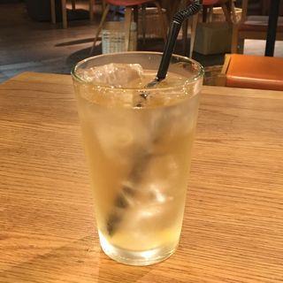 発芽黒紫小豆茶 -アイス-(ダイチ アンド トラベルカフェ (Daichi & Travel café【旧店名】ダイチアンドキーツ))